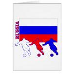 Fútbol Rusia Felicitaciones