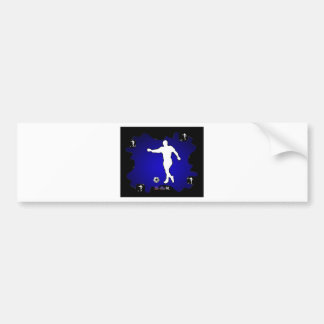 FUTBOL SOCCER GIFTS CUSTOMIZABLE PRODUCTS BUMPER STICKER