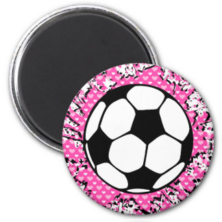 fútbol splat. imán redondo 5 cm