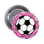 fútbol splat. pins