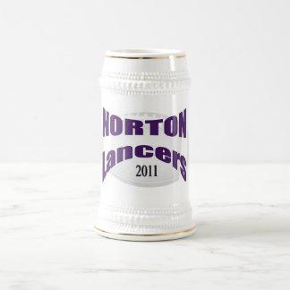 Fútbol Stein de los lanceros de Norton Jarra De Cerveza