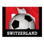 Fútbol Suiza Postales