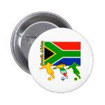 Fútbol Suráfrica Pins