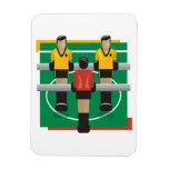 Fútbol tablero iman flexible