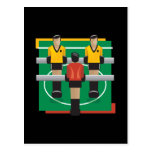 Fútbol tablero postales
