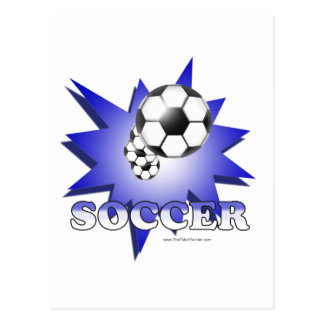 ¡Fútbol! Postal