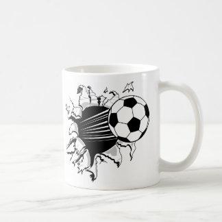 Fútbol Tearout Tazas