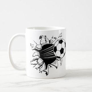 Fútbol Tearout Taza Clásica
