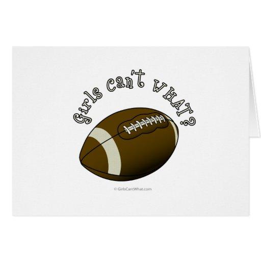 Fútbol - texto blanco tarjeta de felicitación