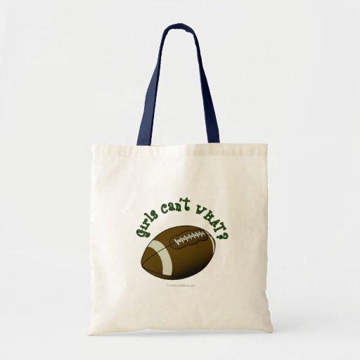 Fútbol - texto verde bolsa