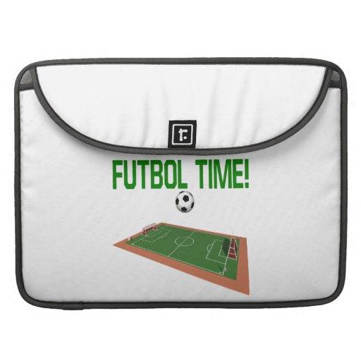 Futbol Time Sleeve For MacBooks