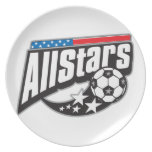 Fútbol todas las estrellas platos