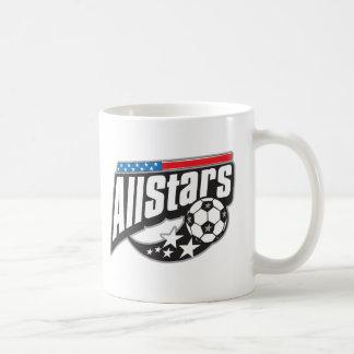 Fútbol todas las estrellas tazas