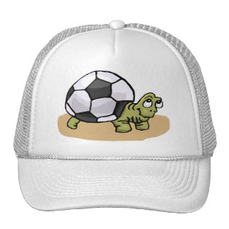 Fútbol (tortuga) gorro de camionero