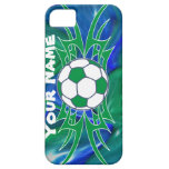Fútbol tribal iPhone 5 protector