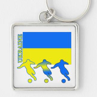 Fútbol Ucrania Llavero