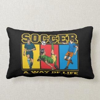 Fútbol una manera de vida almohada