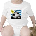 Fútbol Uruguay Traje De Bebé