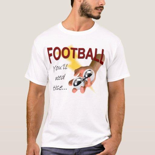 Fútbol -- Usted necesitará éstos Playera
