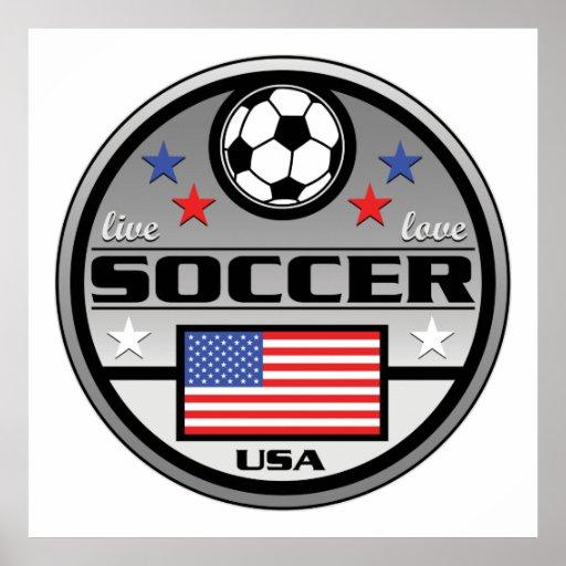 Fútbol vivo América del amor Póster