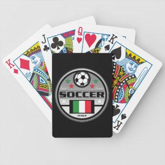 Fútbol vivo Italia del amor Baraja De Cartas