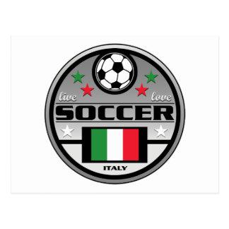 Fútbol vivo Italia del amor Postales
