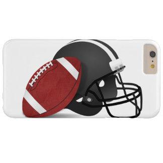 Fútbol y casco funda barely there iPhone 6 plus