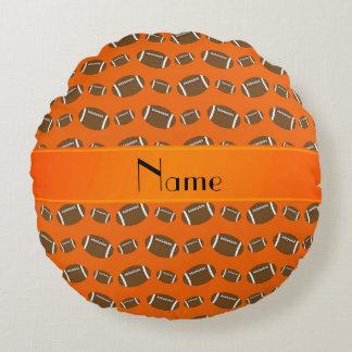 Fútboles anaranjados conocidos personalizados
