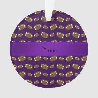 Fútboles púrpuras conocidos personalizados