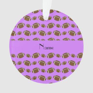 Fútboles púrpuras en colores pastel conocidos