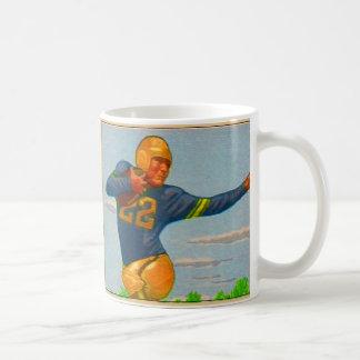 Futbolista del vintage 40s del kitsch 'Arm tieso Taza De Café