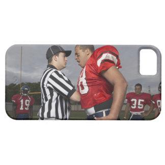 Futbolista que discute con el árbitro funda para iPhone SE/5/5s