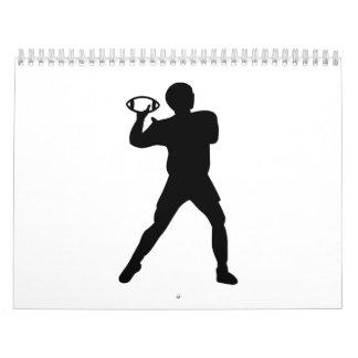 Futbolista Calendario De Pared