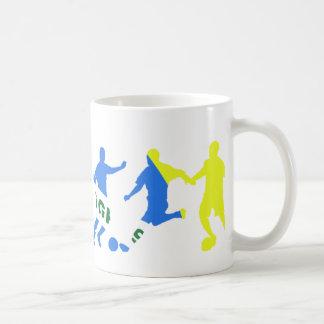futebol brasileiro coffee mug