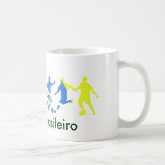 futebol brasileiro coffee mugs