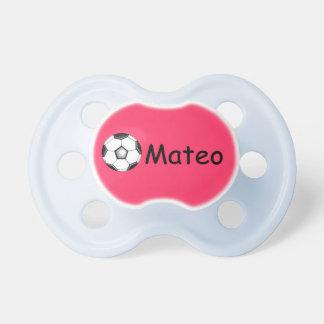 Futebol del futbol del fútbol de Mateo Chupetes Para Bebes