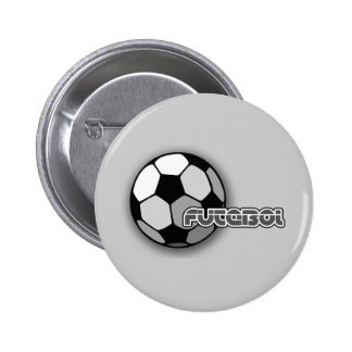 Futebol es fútbol y el fútbol es vida pin