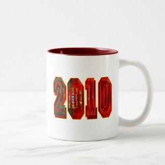 Futebol Português 2010 Two-Tone Coffee Mug
