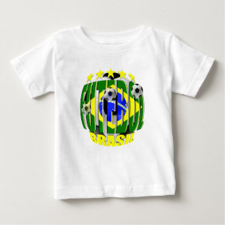Futebol round brazil soccer ball 5 star gifts baby T-Shirt