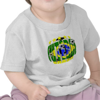 Futebol round brazil soccer ball 5 star gifts t shirts