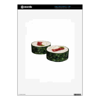 Futomaki Maguro Sushi iPad 2 Skins