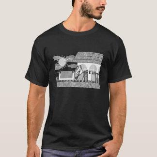 Futon drying (Hang out futon) MONOCHROME T-Shirt