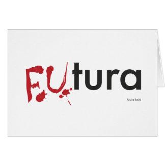 Futura - Blood dripping Font - Happy Halloween Card