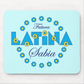 Futura Latina Sabia Alfombrillas De Ratón