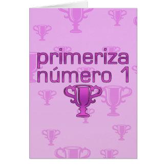 Futura Mamá  Número 1 Card
