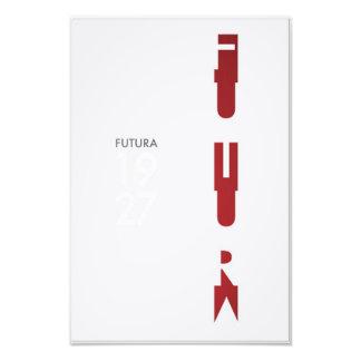 Futura Poster Photo Print
