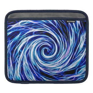 Future Abstract -BL- iPad pad Horizontal Sleeve For iPads