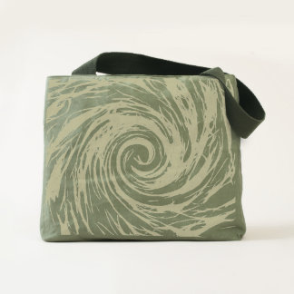 Future Abstract - Canvas Utility Tote