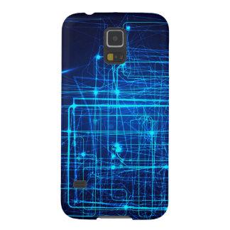 Future Abstract Laser Design. Galaxy S5 Case