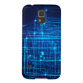 Future Abstract Laser Design. Galaxy S5 Cases